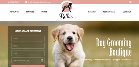 bellas dog boutique