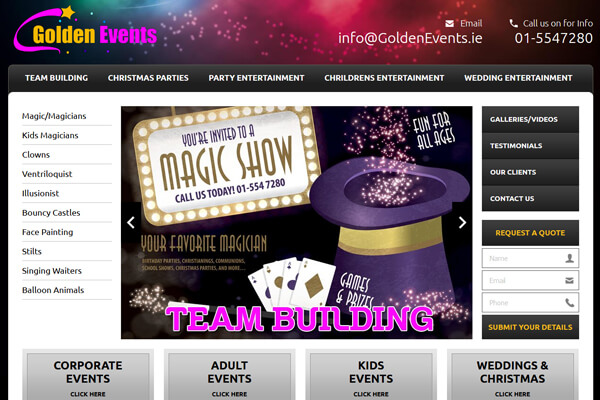 Golden Events Entertainment