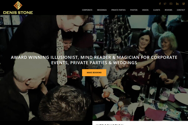 Magicians Website
