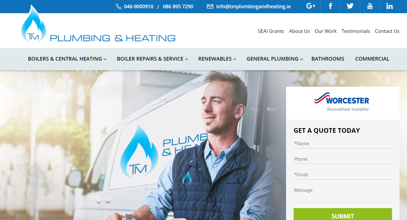 TM Plumbing & Heating