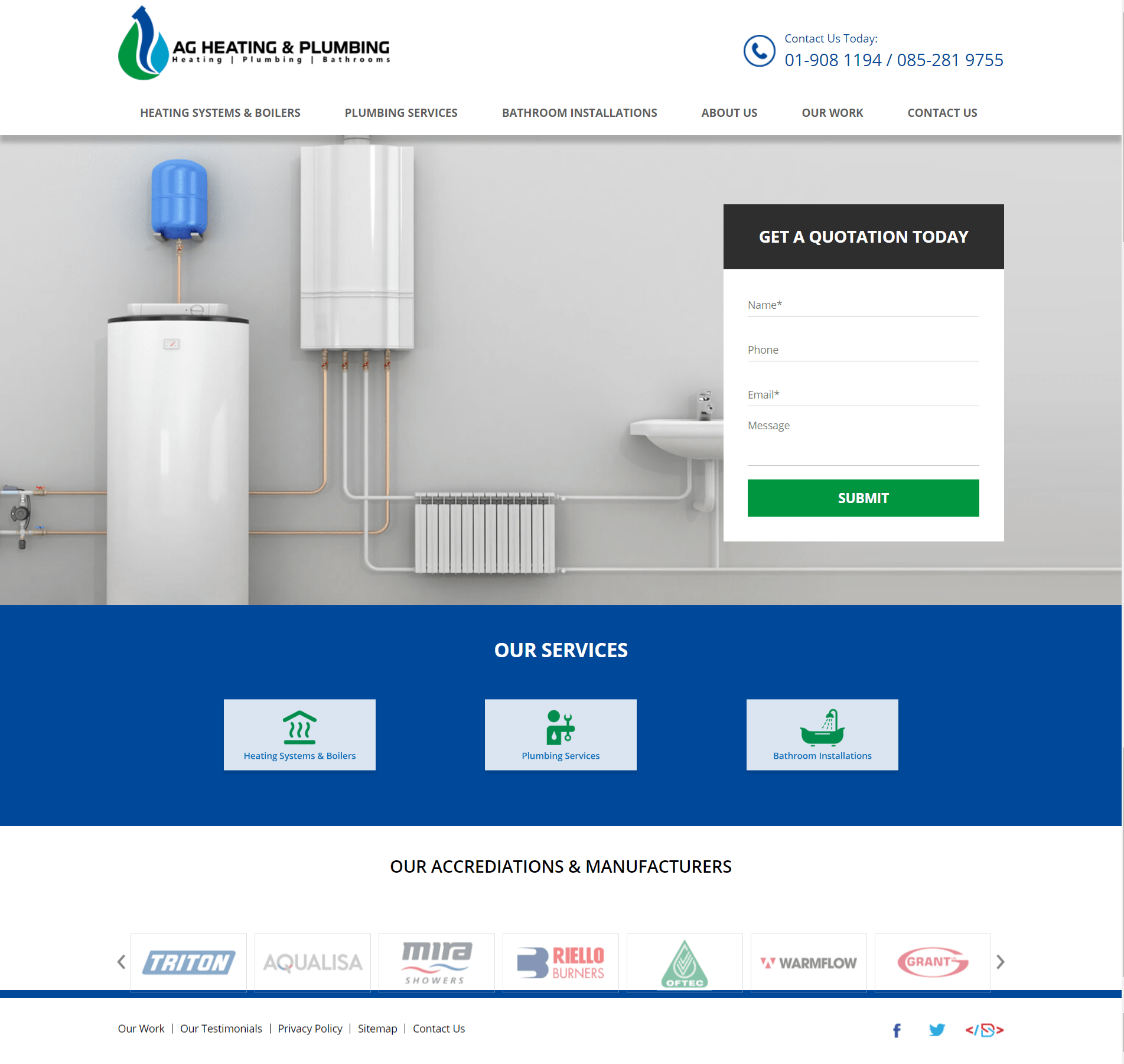 AG Heating & Plumbing