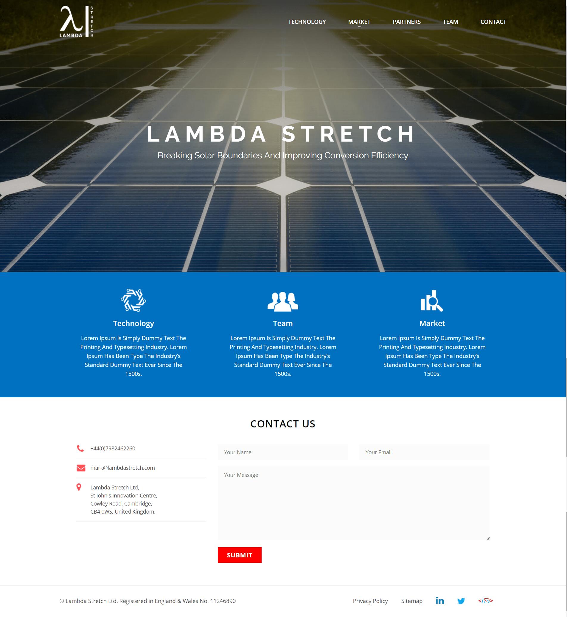 Lambda Energy